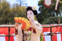 平安神宮例大祭翌日祭 舞踊奉納(先斗町 光はなさん、もみ香さん) - 花景色-K.W.C. PhotoBlog