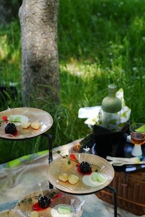 ピクニックって楽しい!!和モダンピクニックレッスンのご報告☆ - mycantikcolors *マイキャンティックカラーズ*
