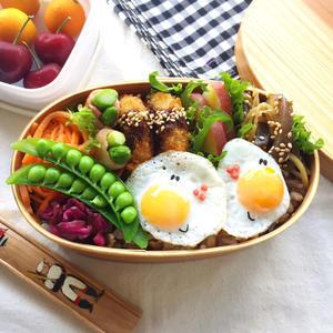 目玉焼き弁当と、今週のkao - arare-day's 3rd