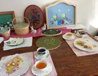 素敵な作品が完成しました - coco diary 山口県 お花と絵とテーブルコーディネートレッスン