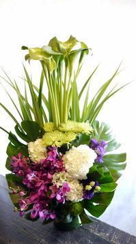 七回忌に。新琴似11にお届け。2017/05/26。 - 札幌 花屋 meLL flowers