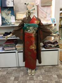 渋渋な振袖コーディネイト☆ - Tokyo135° sannomiya