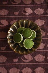 抹茶のサブレとクレマチス - Baking Daily@TM5