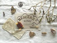 MERCERIE de PARIS Vol.2.  パリのメルスリーと小さな宝物展 - BLEU CURACAO FRANCE
