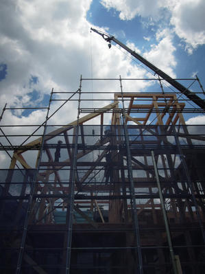 【都立大学プロジェクトクライアントご夫妻を上棟見学】 - K+S Architects | NEWS
