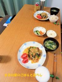 南蛮漬けの日、和食の日、汁ナシ担々麺の日 ~数日まとめて~ - まるの家のごはんと暮らし