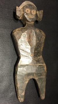 インド ハマヌーン 木彫像 - MANOFAR マノファー