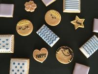 募集開始! 徹底基礎アイシングクッキーレッスン - えんぐりこんぐり 田舎道  お菓子屋はじめます