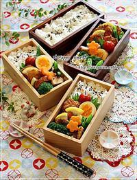 サーモンフライ弁当とバターロール♪ - ☆Happy time☆