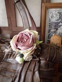 バッグ コサージュ*アーティフィシャル - 森の工房 Flower Work ナチュラルスローな空間