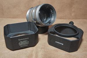ライカ Summarit 50mmF1.5 専用角型フード XOONS - saruyamaの沼探検