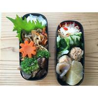 生姜たっぷり鶏団子BENTO - Feeling Cuisine.com