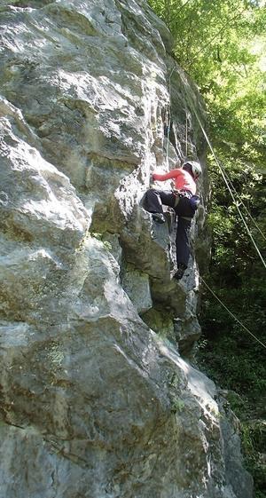 岩登り教室Ⅱ - アウトドア菊信の世界