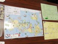 YSGA第335回定例会の様子その14 (TDF)ラコックの陰謀、(EP/CMJ)ドイツ戦車軍団「ダンケルク」、(文禄)秀吉軍団カードゲーム - YSGA(横浜シミュレーションゲーム協会) 例会報告