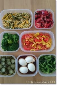 今週の常備菜☆茹でずに冷凍できてポイポイ使える野菜と離乳食のストック - 素敵な日々ログ+ la vie quotidienne +