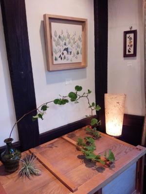 まつやまさとこ「本棚のはなし」終了しました - ギャルリ・ド・ぽえむ 本格珈琲とギャラリーの店