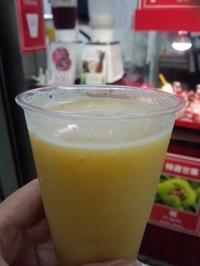 新宿 AFD2005/AIWA Foods(愛和食品)の手作りジュース 杏と林檎 - 東京ライフ