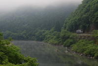 川霧立ち昇る - かにさんの横歩き散歩日記
