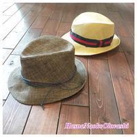 ご夫婦の帽子 ペーパーハット リボンオーダー  hatbox - オーダーメイド帽子店と帽子教室 ハスナショップクチュリエ&手芸教室とギフト雑貨 Paraiso~パライーゾ楽園 Blog