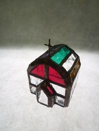 ちいさな教会とシーグラスを使って - atelier GLADYS  ステンドグラス工房 作り手の日々