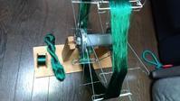 カセ糸の巻き取り - よしのクラフトルーム