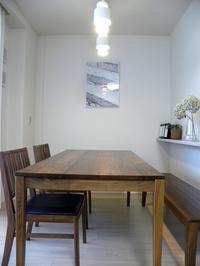 我が家のダイニングテーブル。 - イロトリドリノ暮らし