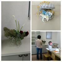 モダンフラワーアート - 花サークルAmelyの花時間