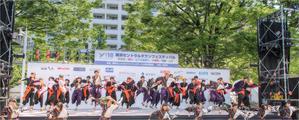 """早稲田大学の踊る下駄集団『下駄っぱーず』(横浜セントラルタウンフェスティバル""""Y158"""") - Documentary"""