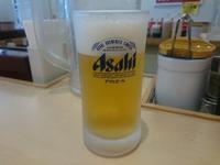 5/29夜勤明け 豚バラ焼肉ラージ定食¥700 + 湯豆腐変更¥50 + 生ビール2杯¥300 @松屋 - 無駄遣いな日々