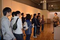 高校生向けギャラリートークを開催しました! - 青森県立郷土館ニュース