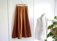 C&S ナチュラルコットン HOLIDAY で 頼れる相棒☆スカートを作りました - Mrs.Piggle-Wiggle's lemon drops