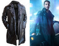Ryan Gosling Blade Runner 2049 Officer K Leather Coat - 下呂温泉 留之助商店 入荷新着情報