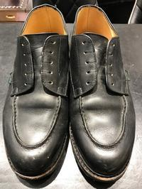 梅雨に履きたいパラブーツ、だからこそのお手入れ - 玉川タカシマヤシューケア工房 本館4階紳士靴売場