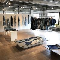 「藍洋装展」終了いたしました - niwa-style