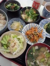 新宿 ミルクランドの日替り自給野菜の定食(おまけつき) - 東京ライフ