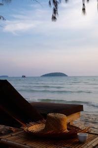 カンボジアのビーチリゾートへ - 空想地球旅行