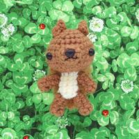 [新作][あみぐるみ] エゾリス、黒柴犬さんを、minneさんで販売開始しました♪ - Smiling * Photo & Handmade 2