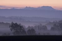 霧の朝です。 - ekkoの --- four seasons --- 北海道