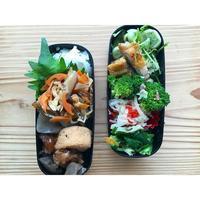 チキンソテーwithミント香る空豆BENTO - Feeling Cuisine.com