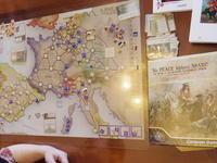 (CompassGames)No Peace Without Spain ノー・ピース・ウィズアウト・スペイン スペイン継承戦争のカードドリブン - YSGA(横浜シミュレーションゲーム協会) 例会報告