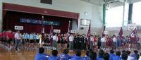 20170531 【城北中学校】市内大会への壮行会 - 杉本敏宏のつれづれなるままに