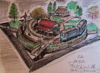 6月の製作予定 企画作品「軽便の小径」B3サイズ - 鉄道少年の日々