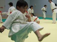 蹴り! - 子ども空手×杉並 六石門 らいらいブログ