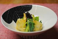 青柳と分葱のぬた と 松葉サイダー - グルグルつばめ食堂