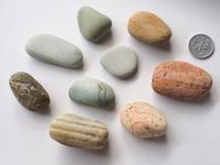 【海で拾った石】手のひらの石 - azukki的.