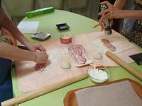 今日のお教室~エピ&クロワッサン☆ - 天然酵母パン教室☆ange☆