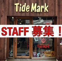 スタッフ募集のお知らせ!! - TideMark(タイドマーク) Vintage&ImportClothing