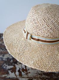 Natural jute hat - Maison de Chapeau*Ulala Koroku/メゾンドシャポー・ウララコロク