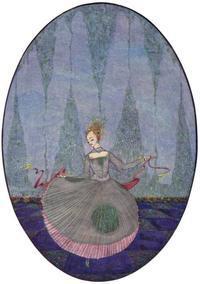 ハリー・クラーク画の人魚姫② - Books