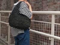 手で握っても肩に掛けても持ちやすいカゴバッグ。 - dia grande by MOUNT BLUE